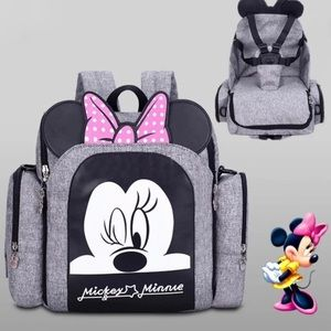 Disney Minnie Mouse Multifunctional Mommy Backpack